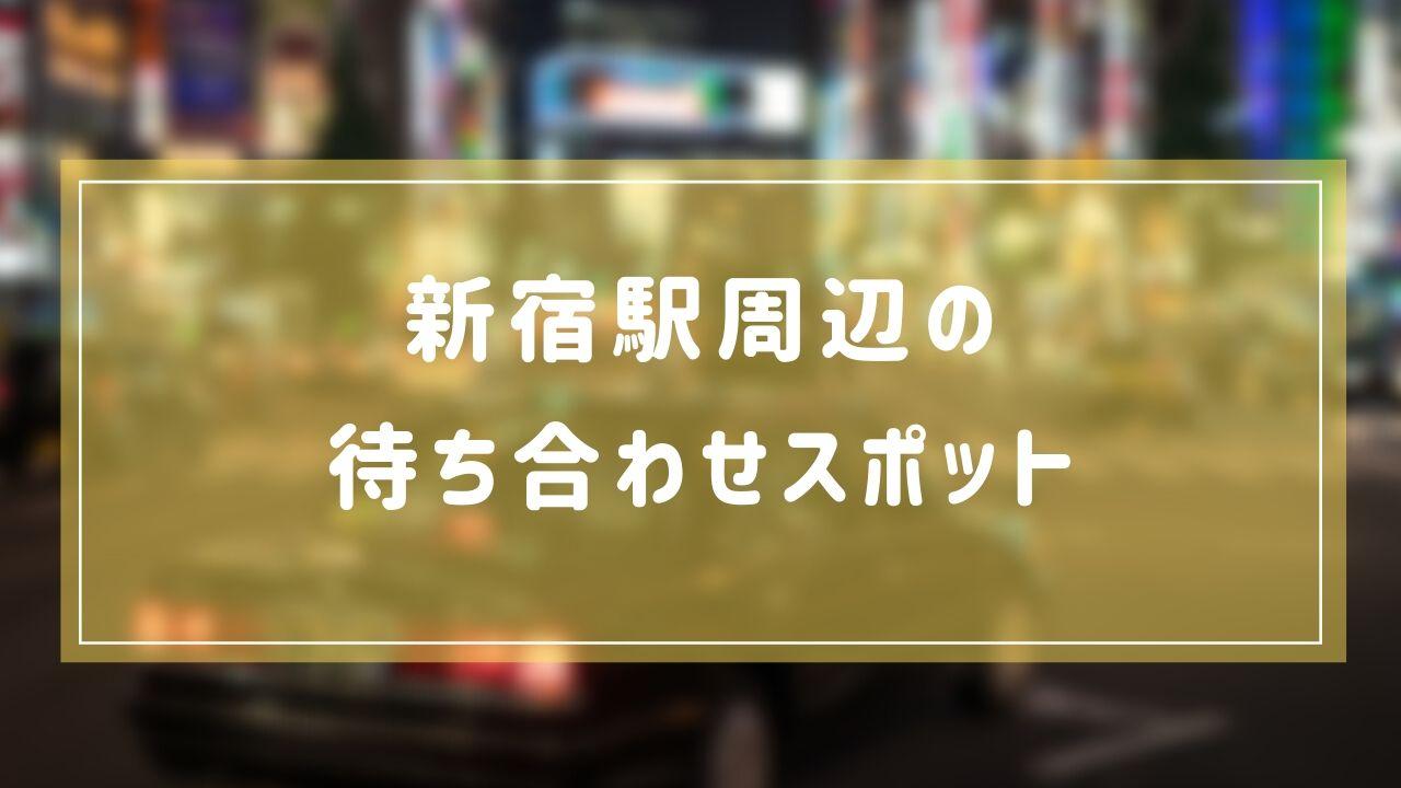 【JR新宿駅】デートの待ち合わせ場所はどこが良い?